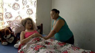 Mulher que teve perna amputada após acidente na capital recebe alta - Joseane da Silva, de 31 anos, faz desabafo. O acidente aconteceu há duas semanas na avenida Duque de Caxias