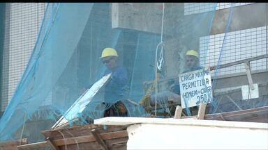Ministério do Trabalho aponta a construção civil como setor mais afetado no PI pela crise - Ministério do Trabalho aponta a construção civil como setor mais afetado no PI pela crise
