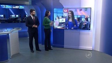 Confira no TEM Notícias desta segunda-feira os destaques do G1 - Nesta segunda-feira (24), a repórter Mayara Corrêa traz o destaque do G1 sobre a oferta de vagas de emprego.