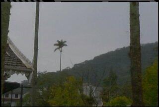 Região Serrana do Rio tem previsão de chuva durante esta semana - Alerta de chuva forte foi emitido para o Inmet.