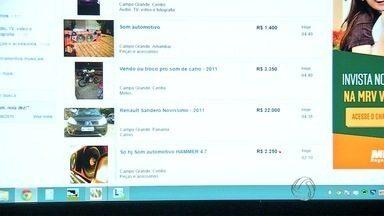 Anúncio na internet ajuda polícia recuperar equipamento de som furtado - Vítima reconheceu o aparelho e procurou a Polícia Civil. Suspeito disse que tinha comprado o equipamento por R$300