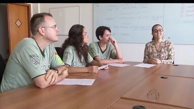 Alunos do IFMS recebem prêmio por projeto sobre violência contra a mulher - Durante seis meses, 22 alunos do instituto em Ponta Porã (MS) discutiram e a igualdade de gênero