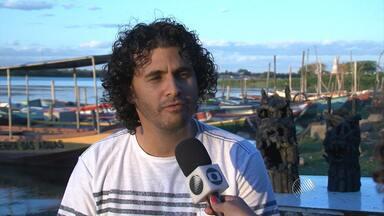 Artista baiano que faz carrancas com carvão irá expor nas Olimpíadas do Rio - Conheça o trabalho.