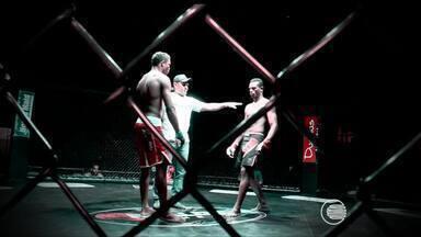 Lutadores treinam para a sexta edição do Piauí Fight Gladiators - Lutadores treinam para a sexta edição do Piauí Fight Gladiators