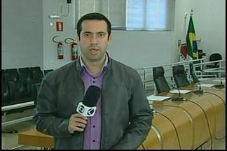 Câmara recebe pedido judicial para afastar vereadores presos em Araxá - Eles são suspeitos de envolvimento em compra de apoio político. Vereadores foram presos pela Polícia Civil.
