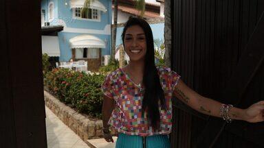 Amanda Djehdian se prepara para o Carnaval: 'Comendo pouquinho' - De passagem pelo Rio de Janeiro, ex-BBB mostra sua rotina para o 'Vídeo Show'