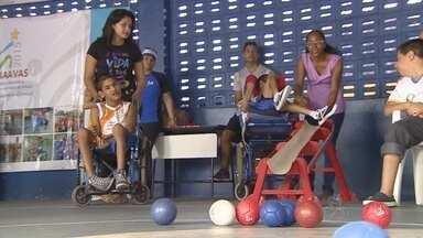 Competições dos Jogos Adaptados André Vidal Araújo continuam - Evento começou no sábado passado e segue na capital amazonense.