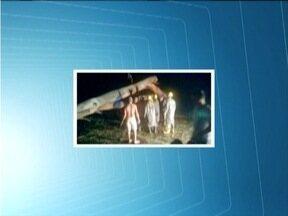Árvore cai em um ônibus e mata duas pessoas na BR-116 em Manhuaçu - Jovem de 19 anos e mulher de 43 morreram no local.