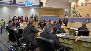 Vereadores aprovam continuidade de Comissão Processante para investigar prefeito afastado - Decisão foi tomada durante a sessão desta terça-feira (8) na Câmara de Vereadores da capital