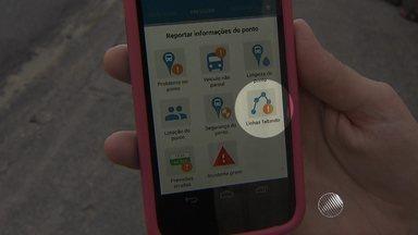 Nova versão de aplicativo do transporte coletivo de Salvador é lançada - A ferramenta ganhou oito funções, dentre elas a do passageiro acionar a polícia em um assalto.