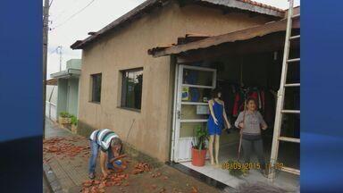 Chuva forte causa estragos em diversas cidades do Sul de Minas - Chuva forte causa estragos em diversas cidades do Sul de Minas