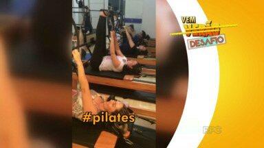 Participantes do 'Vem Verão' vão enfrentar o desafio de Pilates - Eles foram desafiados para uma aula coletiva