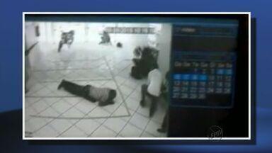 Tentativa de assalto ao Banco Popular na manhã desta quarta-feira (9) em Alfenas (MG) - Tentativa de assalto ao Banco Popular na manhã desta quarta-feira (9) em Alfenas (MG)