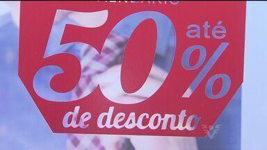 Semana do Desconto vai até o próximo dia 12 - Oportunidade boa para quem busca produtos com um bom preço.