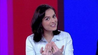 Monica Iozzi elogia o jornalista Evaristo Costa - Apresentadora diz que também gosta do William Waack