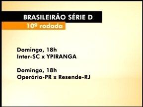 Confira a tabela da última rodada do Brasileirão Série D - O próximo jogo do Ypiranga é contra o Internacional de Lages, SC.