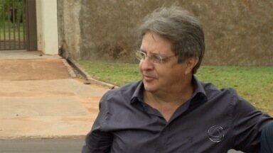 Empresário presta depoimento pela Operação Coffee Break no Gaeco em Campo Grande - Luiz Pedro Gomes Guimarães foi um dos empresários que pediram a abertura de Comissão Processante contra o prefeito Alcides Bernal