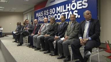 Salvador e Candeias vão ganhar obras de contenção de encostas - Recursos são do Governo Federal.