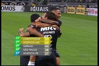 Rodada do Brasileirão tem briga pelo G4 do campeonato - O Corinthians tem cinco pontos de diferença para o segundo colocado.