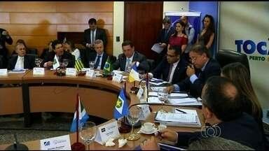 Governadores se reúnem para discutir problemas de gestão - Administradores dos estados do Centro-Oeste realizam encontro em Palmas.