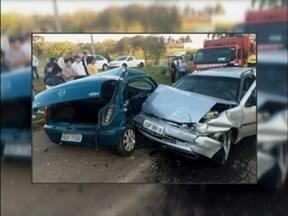 Acidente de trânsito deixa uma jovem morta na ERS 324 em Marau-RS - O acidente ocorreu sexta-feira a noite