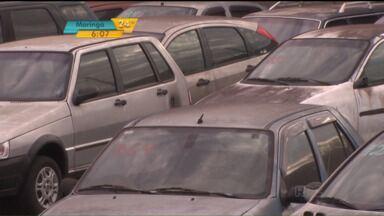 PRF vai começar a cobrar diárias de veículos que lotam os pátios do órgão - Com a cobrança, expectativa é organizar melhor esses locais atualmente cheio de carros apreendidos.
