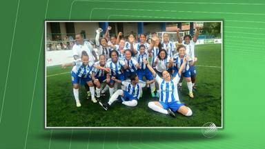 Jovens baianas conquistam o vice-campeonato brasileiro de futebol de sete para mulheres - Jogadoras se credenciaram para disputar torneio em Madri, na Espanha.