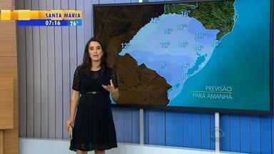 Tempo: próximas horas oferecem risco de temporais e alagamentos no RS - Nova frente fria pode chegar à capital no final de semana.