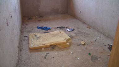 Obra de Unidade de Saúde está parada em Araras - Moradores precisam se locomover para outros bairros em busca de atendimento e a obra que está parada é usada por usuários de drogas.