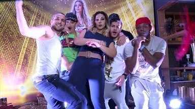 Valeska Popozuda invade o Dança dos Famosos - Giovanna Ewbank acompanha tudo o que rolou nos bastidores
