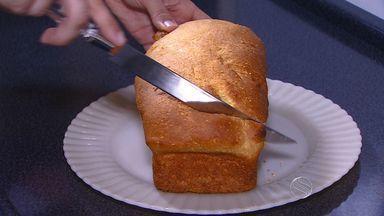 Aprenda a fazer uma pão de milho - Aprenda a fazer uma pão de milho.