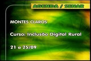 Confira os cursos oferecidos pelo Senar - Em Montes Claros, será ofertado o curso de Inclusão Digital Rural.