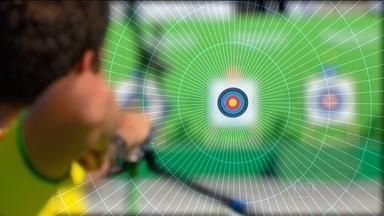 Sambódromo no Rio de Janeiro recebe evento teste do tiro com arco - Marcus Vinícius é o destaque brasileiro