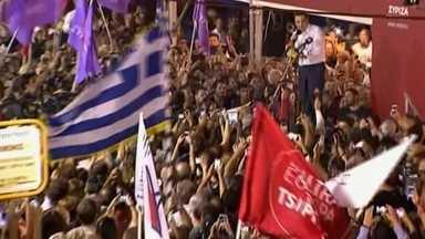 Partido de Alexis Tsipras é reconduzido ao poder na Grécia - Ex-primeiro ministro tinha renunciado há um mês. País teve a quinta eleição ao parlamento em seis anos.