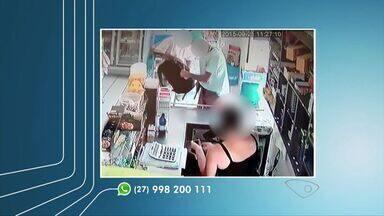 Três pessoas são presas após roubar uma padaria em Vila Velha, ES - Situação aconteceu no bairro Interlagos. Câmeras de videomonitoramento registraram o crime.