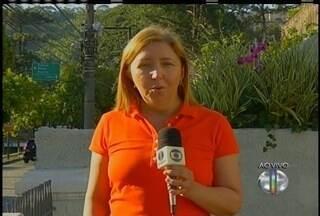 Início da primavera será com temperatura alta em Petrópolis, no RJ - Temperatura pode chegar aos 31º.