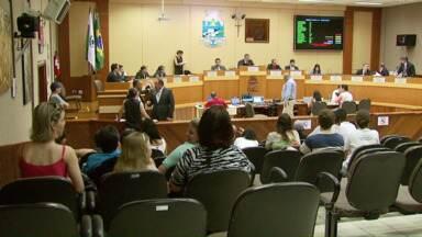 Projeto de centralização dos serviços de urgência é retirado da pauta durante sessão - O vereador Paulo Rocha pediu vistas do projeto.