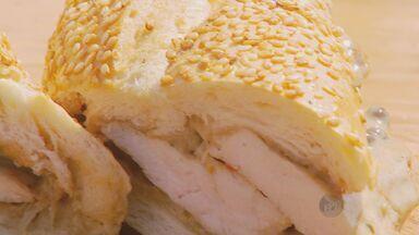 No 'Prato Feito', Kassab ensina sanduíche de frango - Nesta quarta-feira (23) a receita do Kassab é um sanduíche de frango.