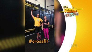 'Crossfit' será o próximo desafio da turma do Vem Verão - Eles foram desafiados pelo professor Ricardo