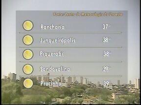 Nova estação não deve interferir nas temperaturas - Calor continua a predominar no Oeste Paulista.