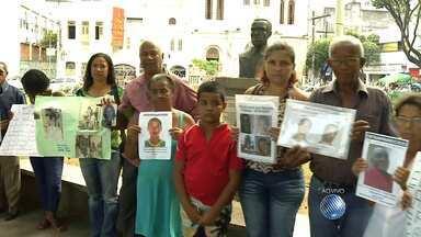 Confira o quadro 'Desaparecidos' desta quarta-feira (23) - Familiares e amigos vão até a Praça da Piedade e busca de entes queridos.