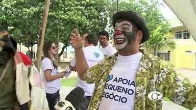 Em Arapiraca, Sebrae realiza campanha de incentivo à geração de renda nas comunidades - Ação é de incentivo aos pequenos negócios como mercadinhos, padarias e vendinhas na própria comunidade.