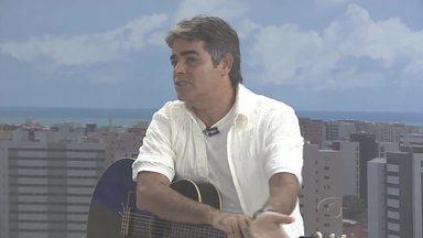 Cantor alagoano fala sobre a importância da TV Gazeta na carreira - Osman Araújo faz parte da história dos 40 anos da emissora.