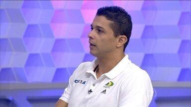 Ramirez Pala explica como é a competição de trampolim - Atleta fala sobre o funcionamento da competição e a pontuação.