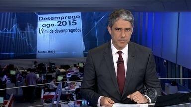 Desemprego no Brasil chega a 7,6% em agosto - É a taxa mais alta em quase seis anos. Um milhão e 900 mil trabalhadores estavam desempregados nas seis regiões em que o IBGE fez a pesquisa.