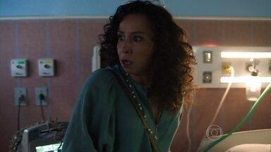 Celma tenta matar Nelson no hospital - Ele conta para Marlene que o filho que ela está esperando não pode ser dele