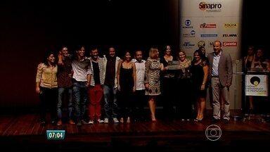 Melhores comerciais e profissionais da propaganda são homenageados no Recife - Entrega de prêmios aconteceu no shopping RioMar.