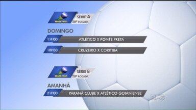 Confira a rodada do Campeonato Brasileiro - Confira a rodada do Campeonato Brasileiro