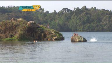 Número de afogamentos aumenta com as altas temperaturas - Em setembro, foram 18 casos registrados em todo o estado. Na região de Curitiba, o perigo é maior em cavas e represas.