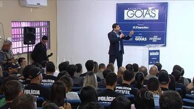 VI Fórum do Agenda Goiás debate segurança pública em São Luís dos Montes Belos, em Goiás - Rodrigo Pimentel, ex-membro do Batalhão de Operações Epesciais (Bope) do Rio de Janeiro e comentarista de segurança da Globo, foi um dos palestrantes do evento que debateu a segurança pública de todo o Estado de Goiás.